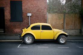 yellow baja bug first colour photos from the ms optical converted nikon l35 35mm f