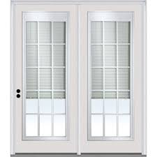 Patio Door Blinds In Glass by 64 X 80 Patio Doors Exterior Doors The Home Depot