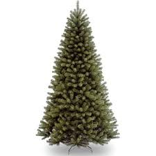 national tree unlit 7 1 2 valley spruce hinged artificial