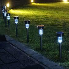 solar stake lights outdoor plastic solar garden path lights online plastic solar garden path