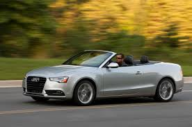 audi cabriolet convertible 2013 audi a5 reviews and rating motor trend