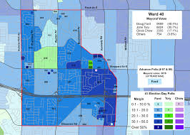2014 Election Map by Mapping The 2014 Toronto Election Wards 39 And 40 Marshall U0027s