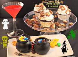 Halloween Baking Dessert Candy Cupcake Recipe Pinkwhen