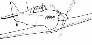 original airplane sketch