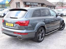audi q7 3 0 tdi top speed audi q7 3 0 tdi quattro s line plus tip auto 245bhp for sale from