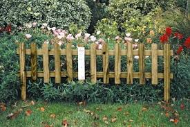 Decorative Garden Fencing Good Fence Decorative Garden Edging