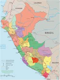 Lima Map Peru Map Lima Machu Picchu