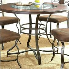 wrought iron dining table glass top wrought iron kitchen table and chairs wrought iron kitchen table 5