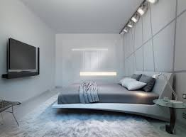 futuristic bedroom in the process of making this futuristic