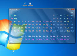 modern table of elements glass periodic table by mkuw on deviantart