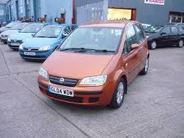 fiat idea dynamic 16v 5dr orange 2004 in sittingbourne kent