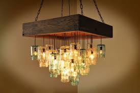 Creative Chandelier Ideas 25 Fascinating Mason Jar Chandelier Designs With A Vintage Flair