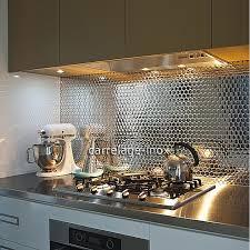 carrelage mural mosaique cuisine carrelage mural inox cuisine photos de design d intérieur et