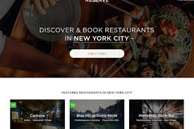 open table reservation system reserve goes after opentable seatme with new reservations system