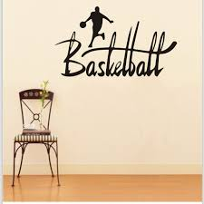Mural Stickers For Walls Online Get Cheap Basketball Wall Stickers Aliexpress Com