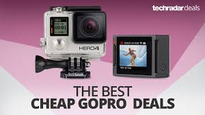 you can buy a gopro for 179 with this cyber monday