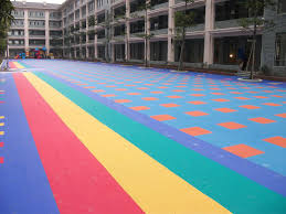 used economical playground flooring for sale outdoor
