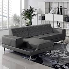 Leather Sectional Couch With Chaise Stella Contemporary Chaise Leather Sectional Sofa Set Free