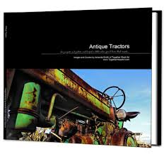 Coffee Table Book Covers Antique Vintage Tractors Coffee Table Book Available In Soft Or