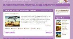 new blogger themes blogger template infitheme