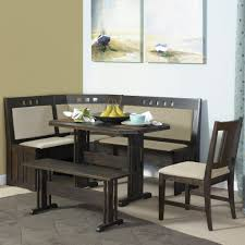 Bench And Chair Dining Sets Kitchen Mesmerizing Cool Nook Oak Dining Table Appealing Kitchen