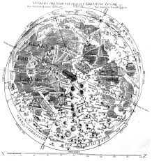 Moon Map Who Put The Names On The Moon The Renaissance Mathematicus