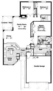 2000 Square Foot Ranch House Plans 66 Best Florida House Plans Images On Pinterest Floor Plans