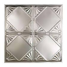 Tin Ceiling Panels by Metal Tin Style Ceiling Tiles Ceilings The Home Depot