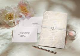 Blank Wedding Invitation Kits Glitz And Glamour Wedding Invitation Kit Wilton