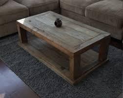 Reclaimed Wood Coffee Table Etsy Brad House Pinterest