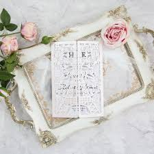 eiffel tower wedding invitations eiffel tower laser cut opening invitation by shindigg