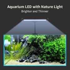 30 led aquarium light amazon com aqqef led aquarium light 30 led fish tank light strip