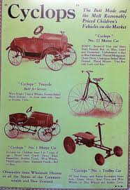 1920s cyclops flivver trike car the online bicycle museum