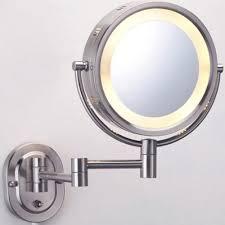 oil rubbed bronze wall mounted makeup mirror mugeek vidalondon