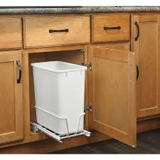 under cabinet trash can lowes best cabinet decoration