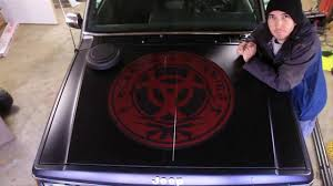 jeep hood decals how to install a large vinyl decal or hood sticker applical com