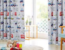 Curtains For Baby Boy Bedroom Blockout Eyelet Curtains Truck Boy Room Curtain Baby