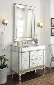 Silver Bathroom Vanity House Mirrored Bath Vanity Images Bathroom Vanity With Vessel