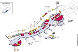 Phoenix Airport Terminal Map Cdg Airport Terminal 2a Map Map Of Cdg Airport Terminal 2a France