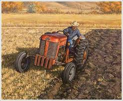 there are new tractors but for some people the vintage massey
