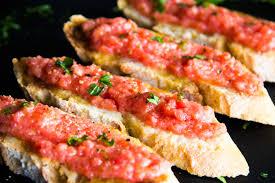 cuisine tomate cuisine 2 pan con tomate erasmus recipes