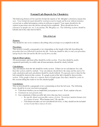 lab report conclusion template 8 formal lab report exle marital settlements information