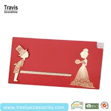 Bride Cards Red Pulling Type Wedding Invitations Cards With The Bride And