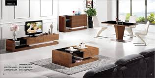Set Of Tables For Living Room Wood Furniture Living Room Furntiure Set Coffee Table Tv Cabinet