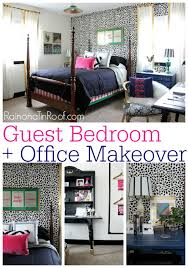 Guest Bedroom Office Ideas Chic Guest Bedroom And Office Reveal