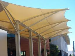 Sail Cloth Awning Shade Sails Tension Structures Architectural Membrane Structures