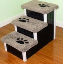 Elevated Dog Bed With Stairs Dog Stairs For High Bed Foter