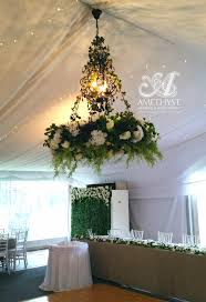 wedding backdrop hire melbourne floral chandelier green white 150diy hire amethyst