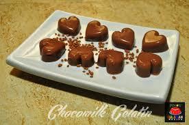 chocomilk gelatin wiggly chocolate treats
