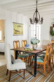 Farmhouse Table Centerpiece Dining Room Rustic With Arched Doorway Stylish Dining Room Decorating Ideas Southern Living